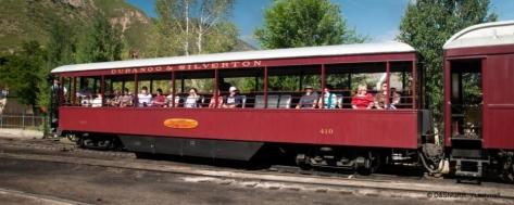 Gondola Train Car